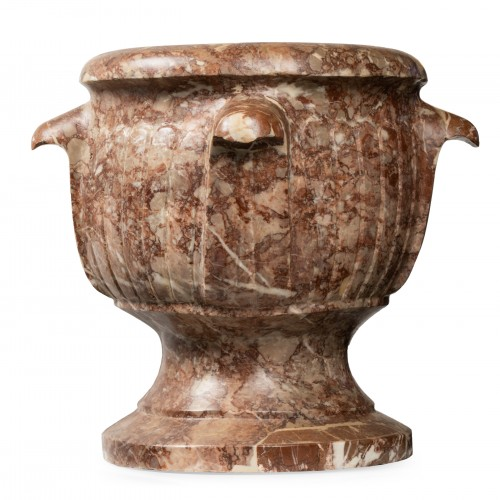 Decorative Objects  - Pair of Sicilian diaspre vases - Italy - 17th century