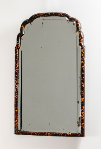 Mirror in blond tortoise shells - England - early 18th century - Mirrors, Trumeau Style