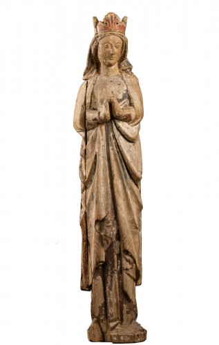 Virgin of Calvary - France - first half of the 13th century