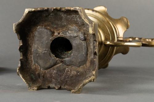 Pair of decorative elements - Italy - 17th century -