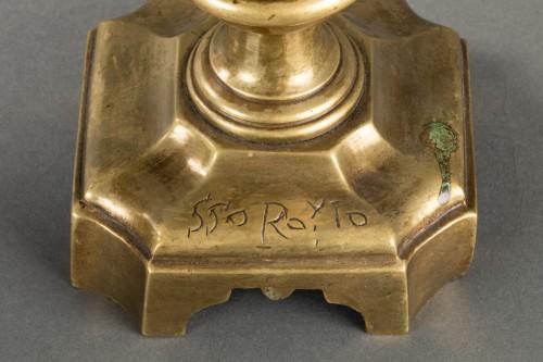 Antiquités - Pair of decorative elements - Italy - 17th century