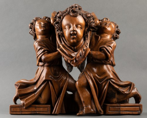 Group of putti - Italy - 16th century - Sculpture Style