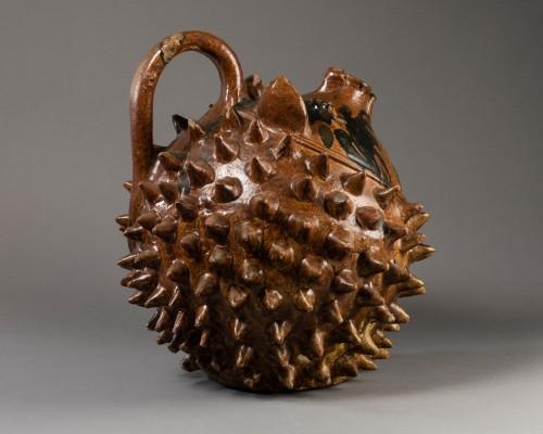 Porcelain & Faience  - Riccio decanter - Seminara - Second half of the XIXth century