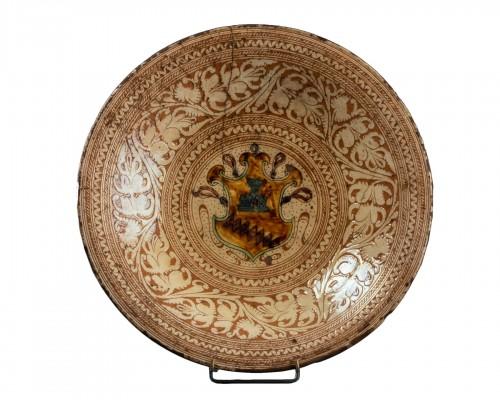 Armor Platter Bardi family - Castelfiorentino 16th century