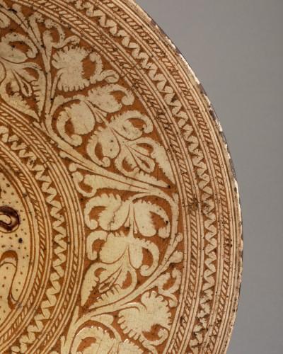 Armor Platter Bardi family - Castelfiorentino 16th century  -