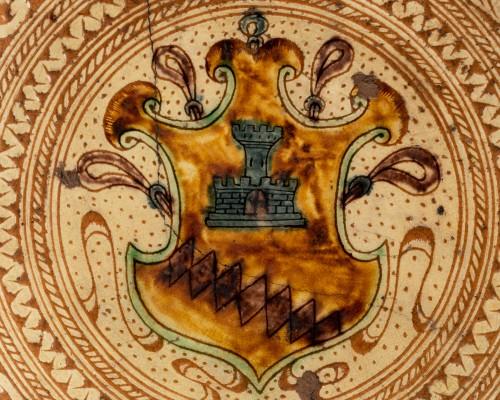<= 16th century - Armor Platter Bardi family - Castelfiorentino 16th century