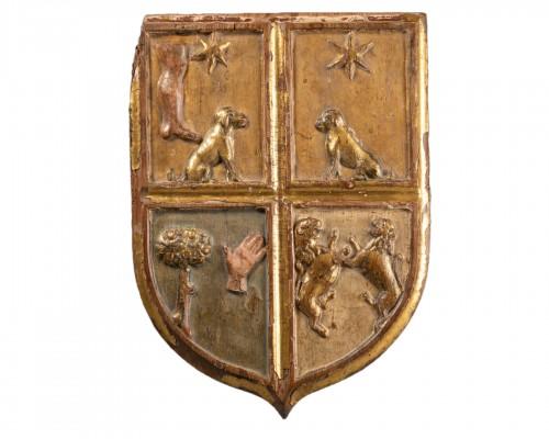 Heraldic coat of arms - Italy - 16th century