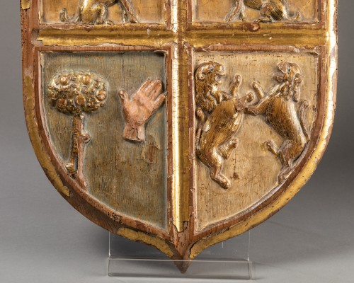 Heraldic coat of arms - Italy - 16th century - Decorative Objects Style