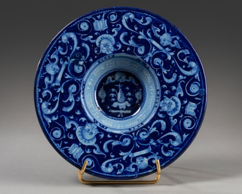 """Berettino"" rod - Faenza - 1540-1550 - Porcelain & Faience Style"