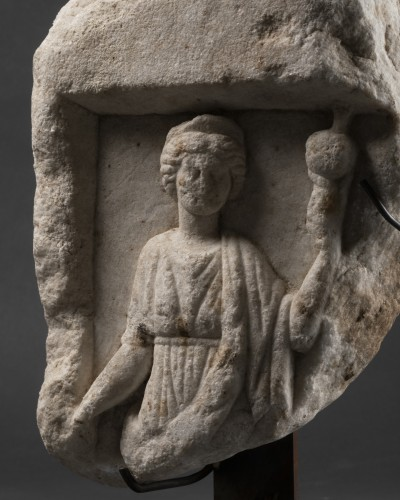 Element of a Roman sarcophagus - Italy - 2nd / 3rd century A.D. -