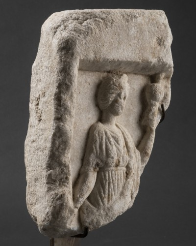 BC to 10th century - Element of a Roman sarcophagus - Italy - 2nd / 3rd century A.D.