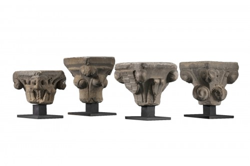 Gothic period capitals - France - 13th century