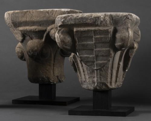 11th to 15th century - Gothic period capitals - France - 13th century