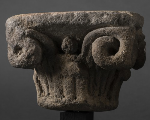 Middle age - Gothic period capitals - France - 13th century