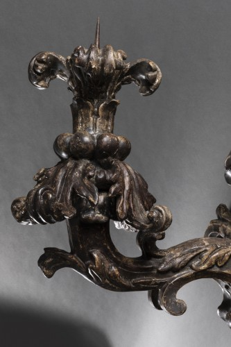 17th century - Pair of baroque sconces - 17th century - Northern Italy