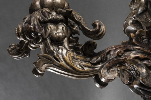 - Pair of baroque sconces - 17th century - Northern Italy