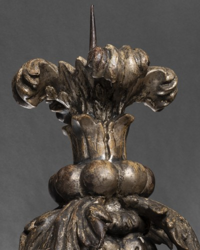 Antiquités - Pair of baroque sconces - 17th century - Northern Italy