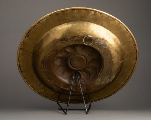 Alms dish - Circa 1500 - Nuremberg -