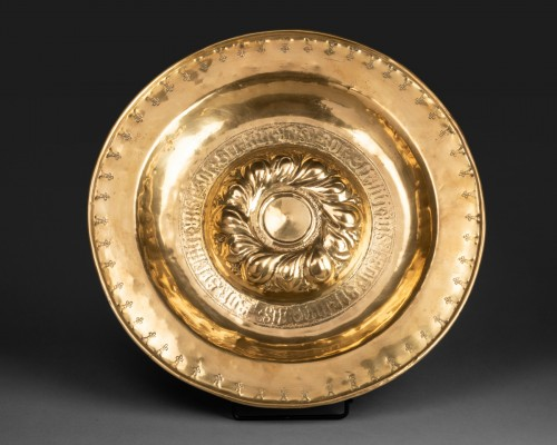 <= 16th century - Alms dish - Circa 1500 - Nuremberg