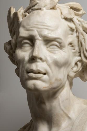- Caesar's bust in marble - Venetian Baroque - 17th century