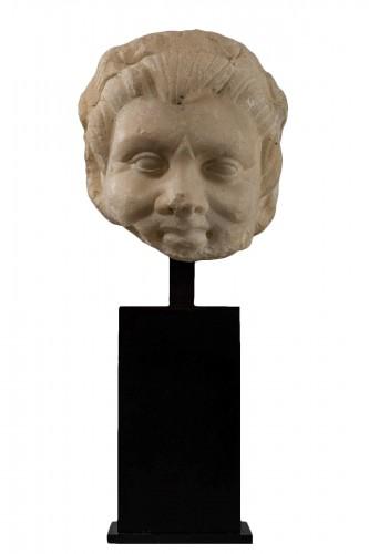 Faun head - Roman Empire, I-IIth century A.D.