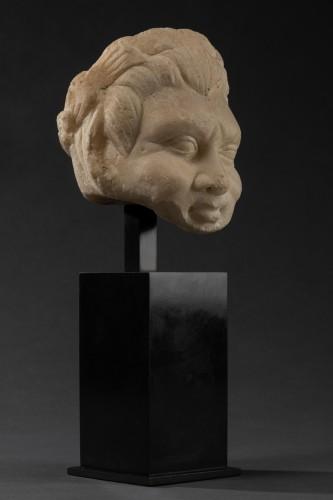 Faun head - Roman Empire - I-IIth century A.D. - Ancient Art Style