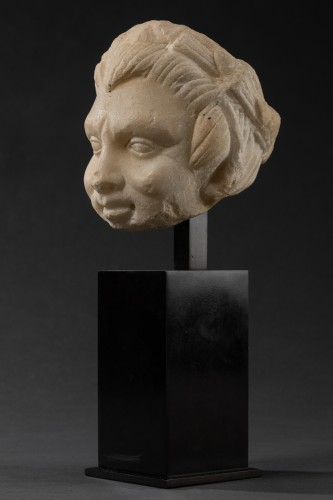 Ancient Art  - Faun head - Roman Empire - I-IIth century A.D.