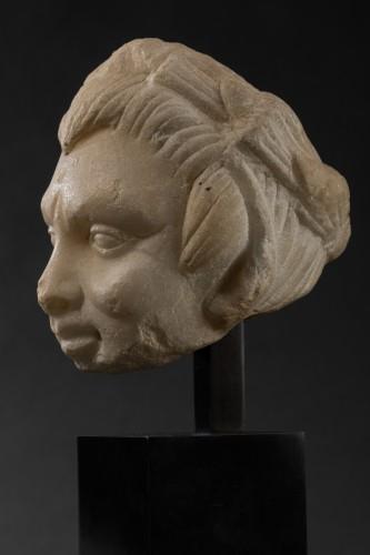BC to 10th century - Faun head - Roman Empire - I-IIth century A.D.