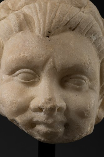 Antiquités - Faun head - Roman Empire - I-IIth century A.D.