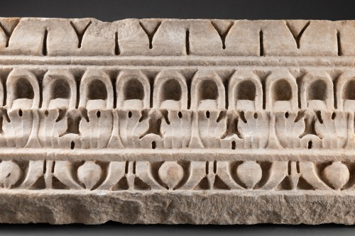 Ancient Art  - Decorated Cornice - Roman empire - 1st-2nd Century AD