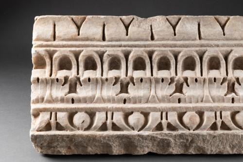 Decorated Cornice - Roman empire - 1st-2nd Century AD -