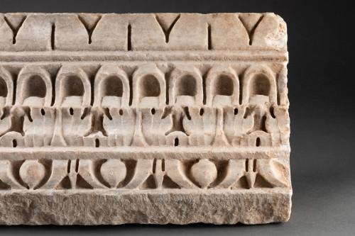 BC to 10th century - Decorated Cornice - Roman empire - 1st-2nd Century AD