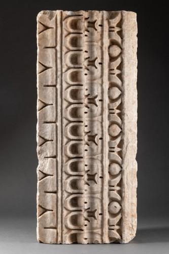 - Decorated Cornice - Roman empire - 1st-2nd Century AD