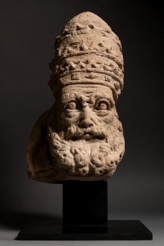 Antiquités - Saint Peter as Pope - France - 15th century