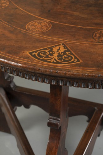 Table with the Torriani family's coat of arms - Lombardy - 17th century -
