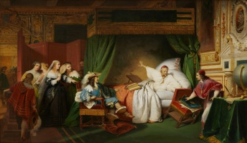 The Vision of the Cardinal de Richelieu on his deathbed, H.Frédérik SCHOPIN