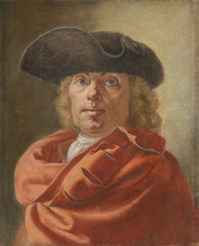 Antoine RIVALZ (1667 - 1735) - Self-portrait