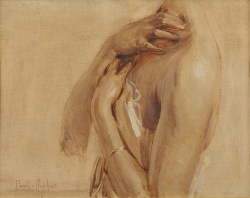 Paul CHABAS (1869 -1937) - Study of female bust