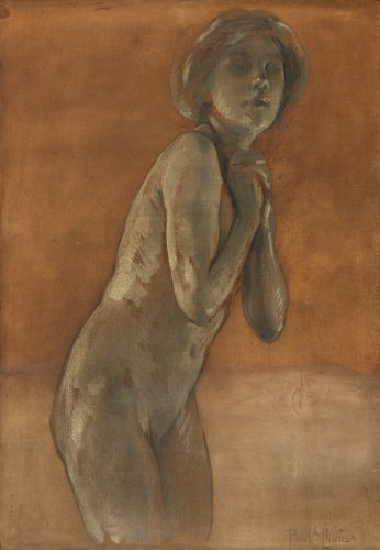 Paul CHABAS (1869 -1937) - Study of a naked woman