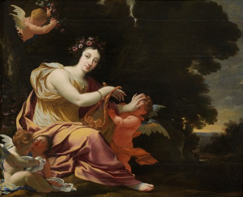 Terpsichore, muse of Dance and light Poetry