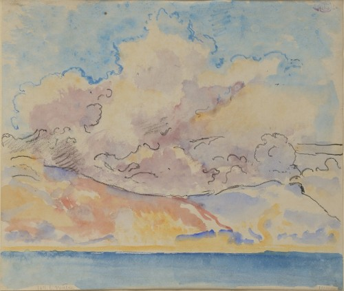 Georges LEMMEN (1865-1916) - The sea and the sky
