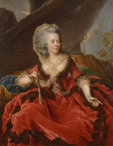 Johan Ernest HEINSIUS (1740 - 1812) - Mrs Adélaïde, Louis XV's daughter
