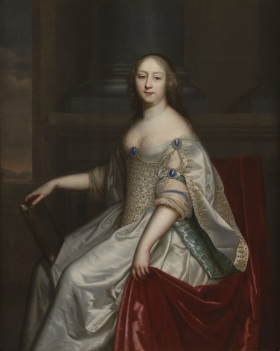 Charles and Henri BEAUBRUN - Portrait of a lady