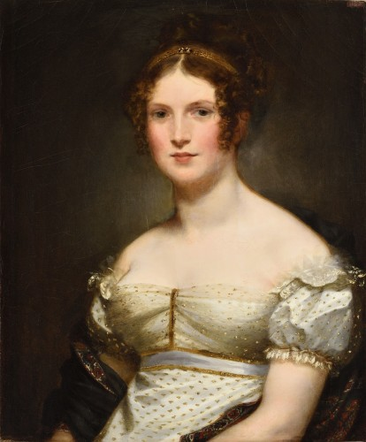 Pierre-Paul PRUD'HON (1758 – 1823) - Portrait de madame Navier, marquise de Beauvoir