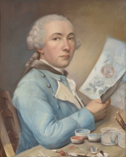 Philippe DE LASALLE (1723 - 1804) - Presumed self-portrait of the artist