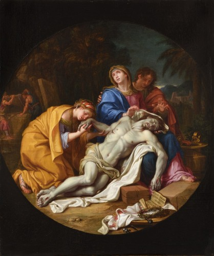 Louis LICHERIE dit de Beurie (1629 - 1687) - The Lamentation of Christ