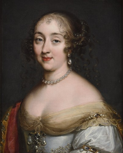Louis Ferdinand ELLE the Elder (1612-1689) - Portrait of a lady of the court of Louis XIV