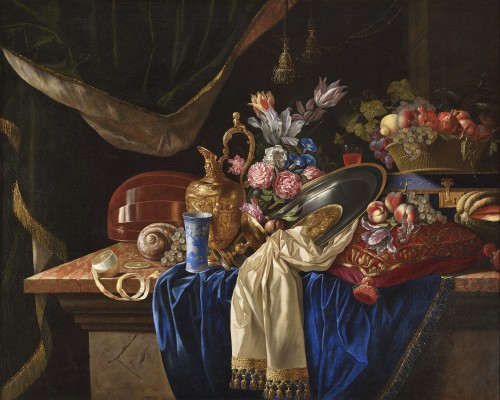 François HABERT (active around 1640 and 1655) - Still life