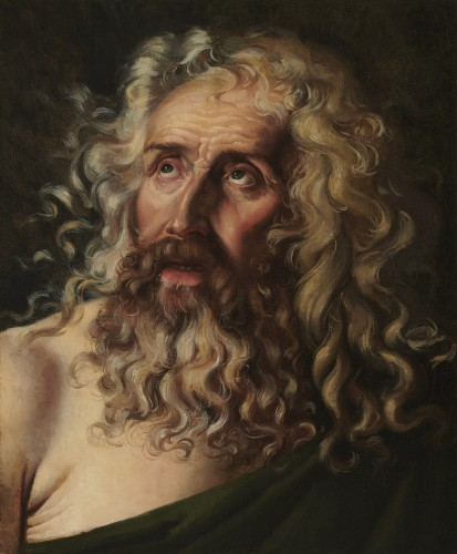 Attributed to François-Xavier FABRE (1766 - 1837) - Head of an old man