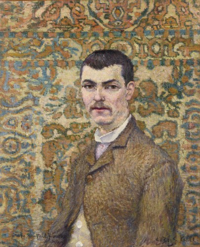 Albert Dubois-Pillet 1846 – 1890) - Portrait de Paul Boucher